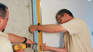 installing a basement wall finishing system in Aberdeen
